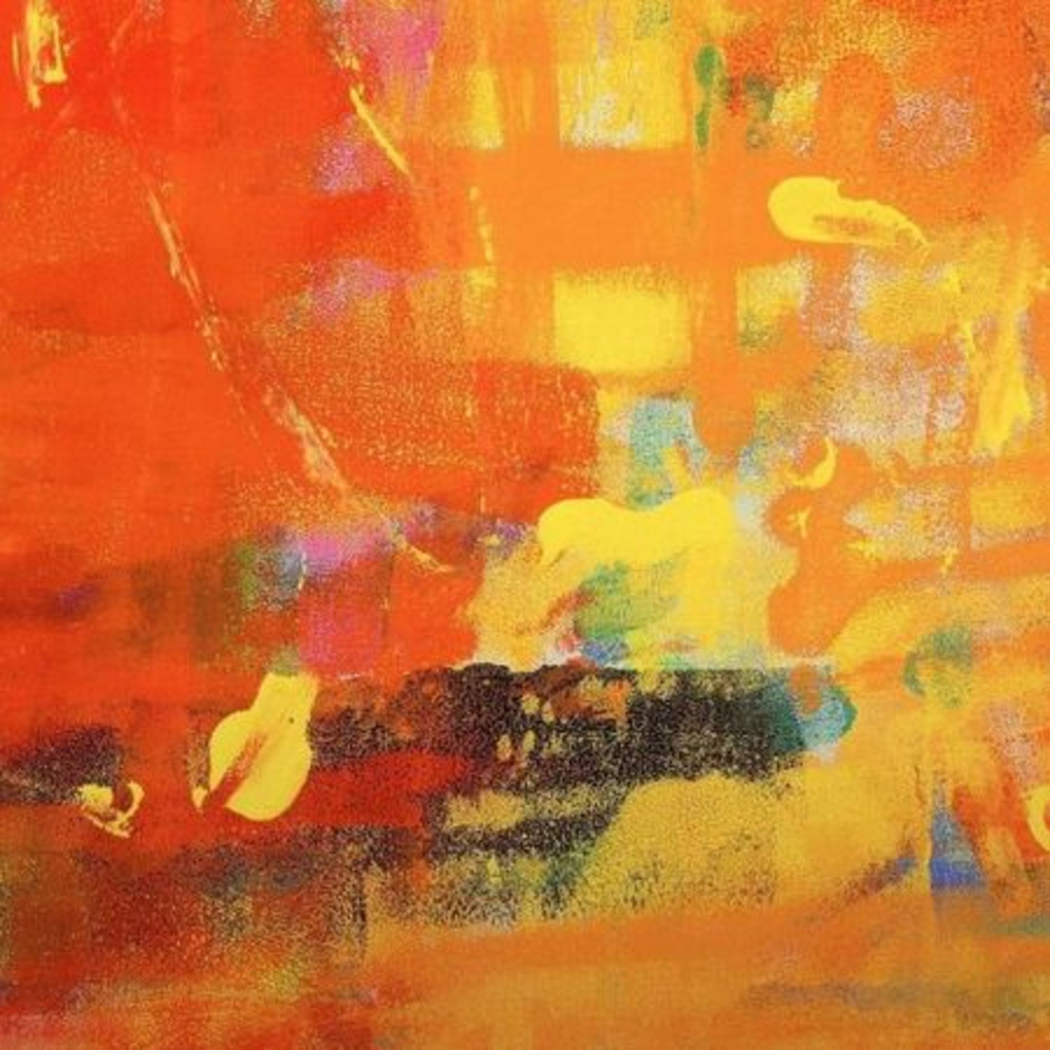 Workshop Abstract Painting