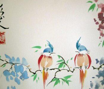 Workshop «Chinese painting U-Sin»