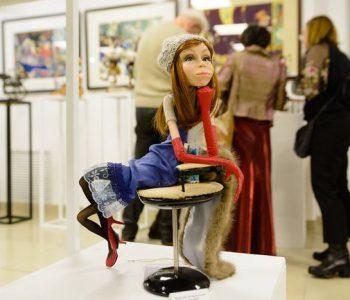В Минске прошла выставка авторской куклы Панна Doll'я