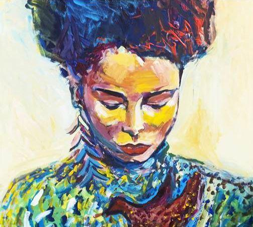 Выставка Марии Скакун «Погружение. Портреты»