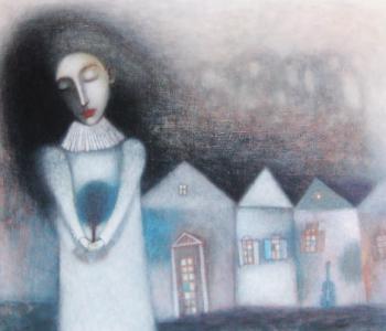 Выставка Галины Ивановой «Мой тайный сад»