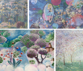 Exhibition of creative achievements of pupils of children's art schools of Belarus