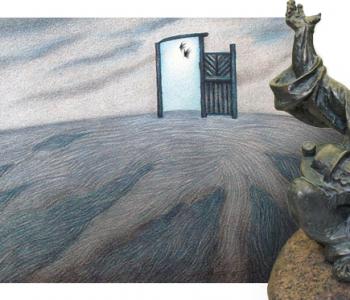 Выставка графики и скульптуры Юлии и Алеся Шатило «Исчезает время»